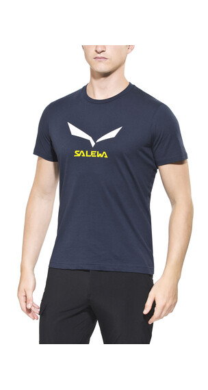 Salewa Solidlogo 2 S/S Tee Men CO night black